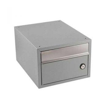 Stapelbare brievenbus Allux Brick verzinkt