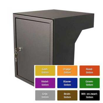 Post inbouwkast type Stoer! 35 tot 50 cm, RAL kleur naar keuze